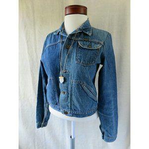 Maverick Vintage Denim Jean Trucker Jacket Spring
